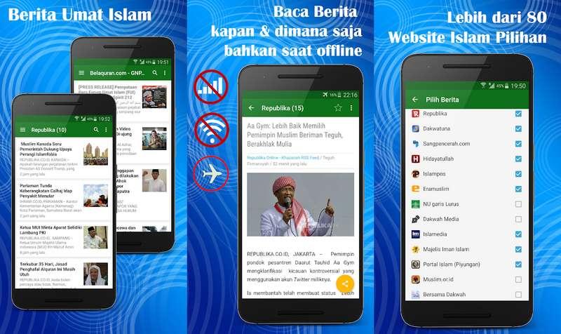 Aplikasi Berita Umat Islam
