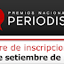 MUY PRONTO INICIAN LOS PREMIOS NACIONALES DE PERIODISMO