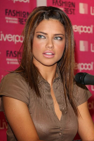 Hairstyle 2014 Adriana Lima Hairstyles 2014