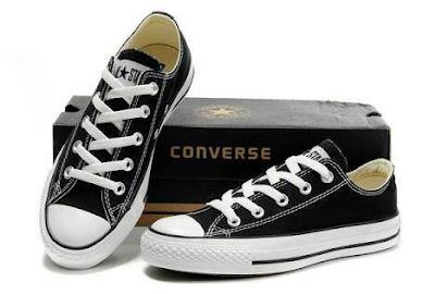 Jual Sepatu Converse All Star Chuck Taylor Hitam Original Indonesia (Buatan Indonesia) Murah