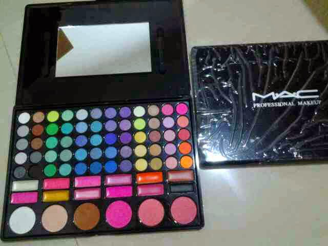 MAC MAKE UP PALLETTE 78 WARNA
