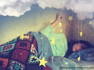 Message d'amour bonne nuit ma petite chérie