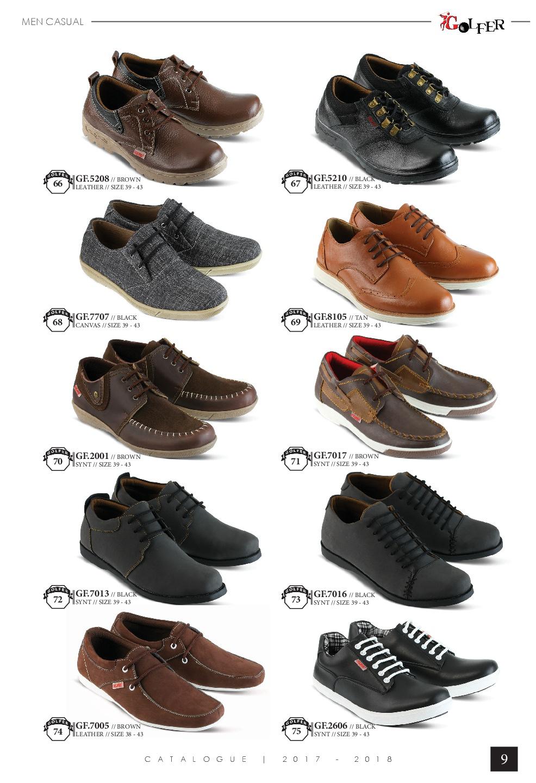 Sepatu Dan Sandal Golfer Katalog Terbaru 2018 Cowo Gars