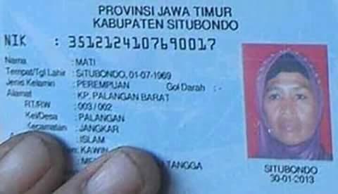 nama unik orang-orang di indonesia