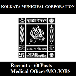 Kolkata Municipal Corporation, KMC, West Bengal, WB, Medical Officer, MO, Graduation, freejobalert, Sarkari Naukri, Latest Jobs, kmc logo