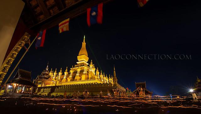 Boun Tat Luang - Tat Luang Festival