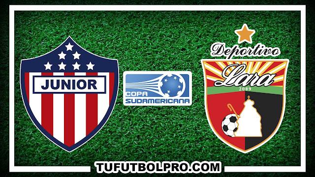 Ver Junior vs Deportivo Lara EN VIVO Por Internet