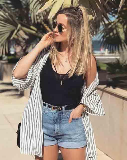 7 maneiras de usar short jeans