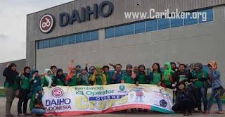 Loker OPERATOR PRODUKSI - PT. Daiho Indonesia 2020