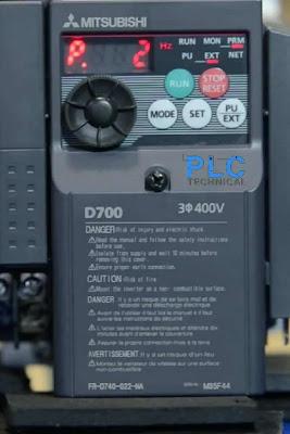 Parameter P2 Mitsubishi D700