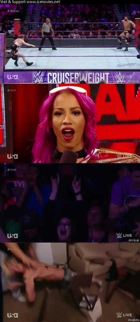 WWE Monday Night Raw 05 Dec 2016 HDTV 480p