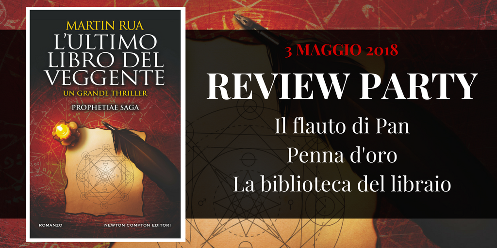Review Party: L'ultimo libro del veggente di Martin Rua