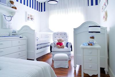 quarto bebe delicado azul