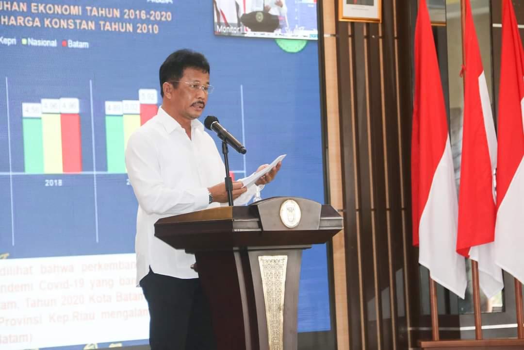 Musrenbang RPJMD 2021-2026, Rudi Paparkan 10 Isu Strategis Pembangunan Batam