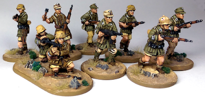 offensive miniatures 28mm DAK