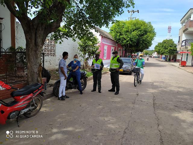 hoyennoticia.com, Policía Guajira adelantó campaña de cultura ciudadana en varios municipios