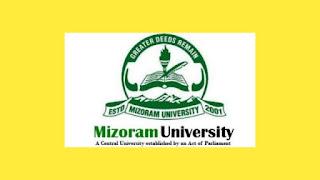 Mizoram University Recruitment 2021 » Apply Now Group C Post