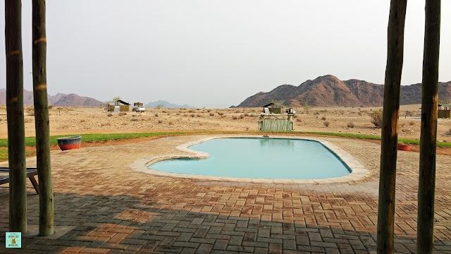 Camping Sossus Oasis, Namibia