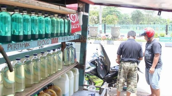 Bali scooter fuel