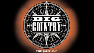 Cover to Big Country album, The Journey