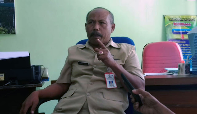 Plt Kepala DPMD Lumajang Syamsul Arifin