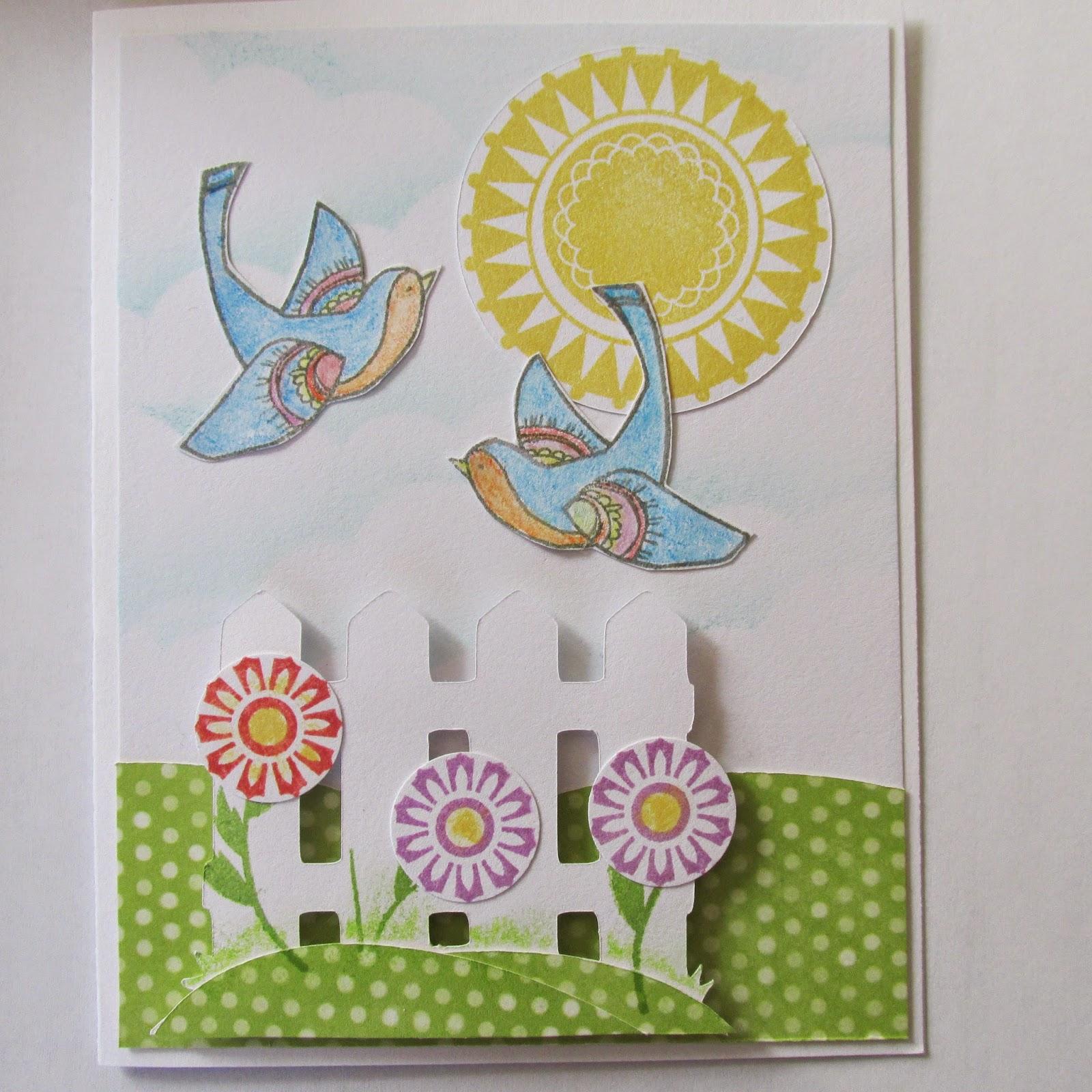 CTMH Happy Birds stamps