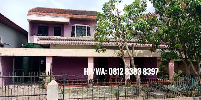 Jual murah rumah dengan luas tanah 486 m2 di Jl. Perwira Dekat Mal Manhattan Medan Sumatera Utara