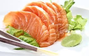 salmão e atum