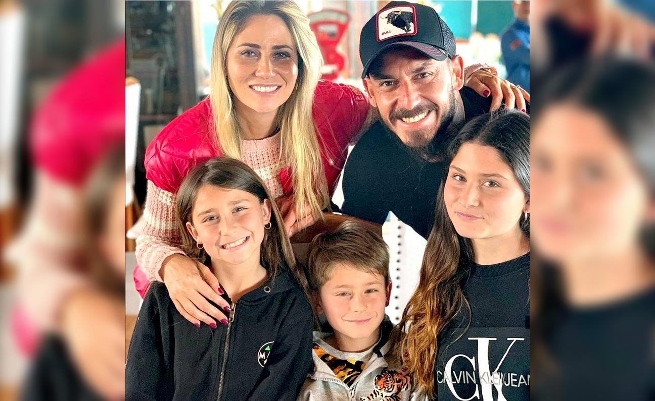 Pinilla cuenta cómo convenció a sus hijos de mudarse por última vez
