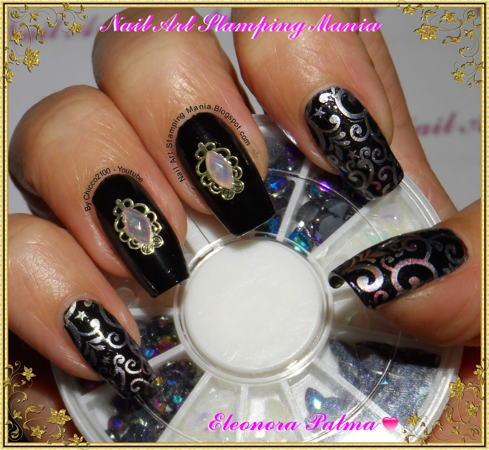 Nail Art Stamping Mania: Born Pretty Store Decorations And Hehe Plate