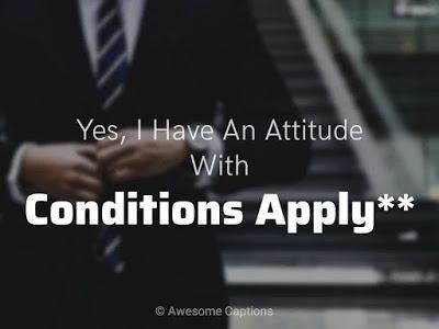 Attitude Captions,