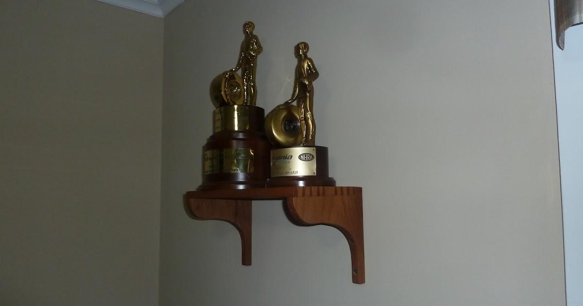 David Barron Furniture Dovetailed Trophy Shelf