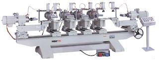 Multiple head type horizontal boring machine