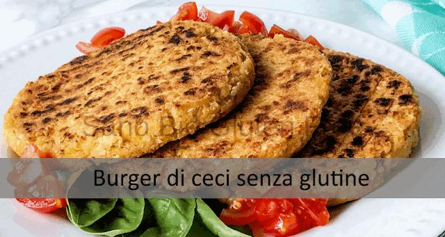Burger di ceci (senza glutine)