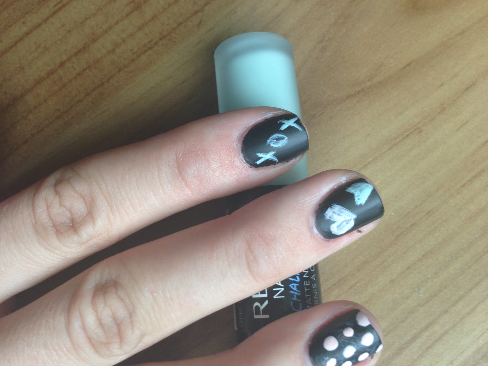 Vintage Seams and Things: NEW - Revlon CHALKBOARD nail art ...