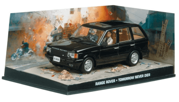 Range Rover - Tomorrow never dies 1:43 colección james bond