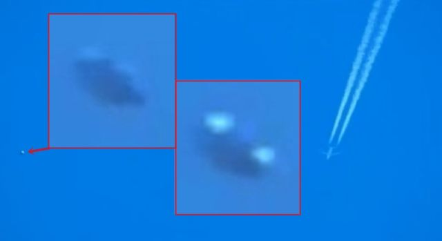 UFO News ~ Unidentified Flying Object Follows Commercial Plane plus MORE Unidentified-flying-object-plane-UFO