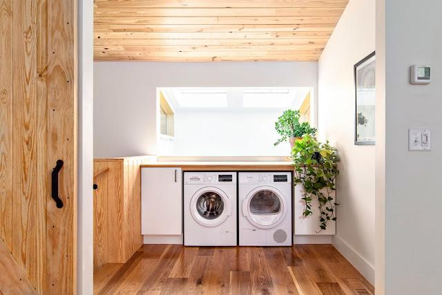 แบบห้องซักรีดในบ้าน