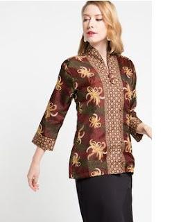Model Baju Batik Terbaru Modern