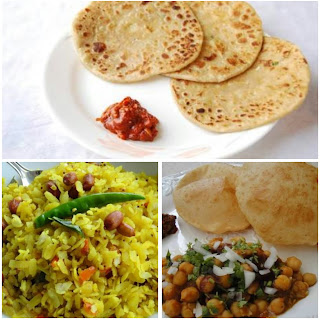 Image of north Indian breakfast