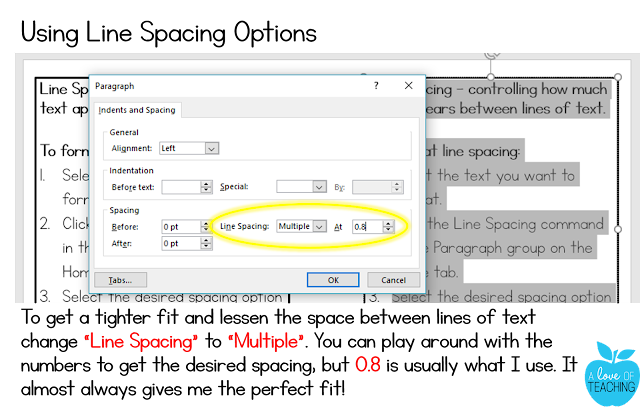 Changing Your Line Spacing in PowerPoint