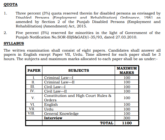 Lahore High Court LHC Jobs 2020 Download Application Form