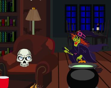 Play TollFreeGames Halloween Witch Room Escape