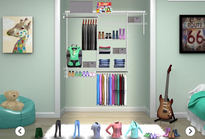 Rubbermaid Closet Planner