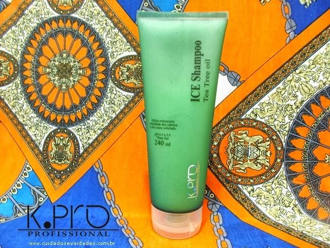 Shampoo Ice Tea Tree Oil Kpro