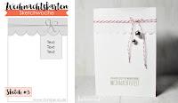Kartenwind : CAS Weihnachtskarte mit dem Weihnachtskartenkit und dem 3. Sketch der Weihnachtskartensketchwoche von www.danipeuss.de #kartenwind #kartensketch #karte #weihnachtskarte #kartenbasteln #kartenanleitung #weihnachten #christmas #xmas #cardtutorial #tutorial #danipeuss #weihnachtskartensketchwoche