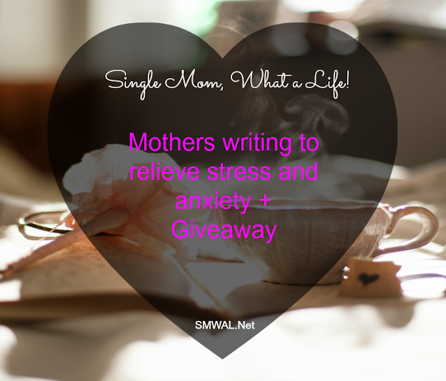Stress,anxiety, mothers, single mom, giveaway, free, books, journal, writing