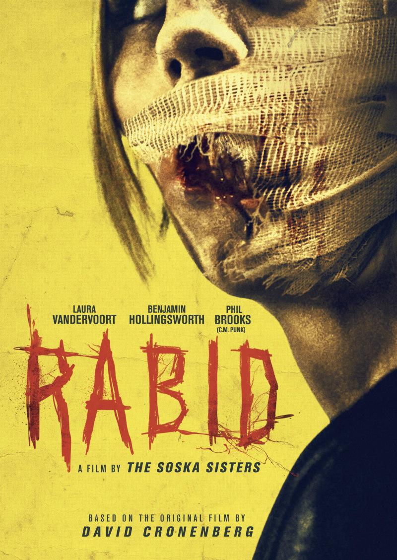 The Soska Sisters' RABID poster