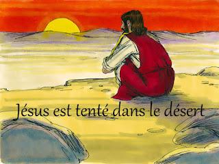 http://catechismekt42.blogspot.com/2016/02/diaporama-jesus-est-tente-au-desert-les.html
