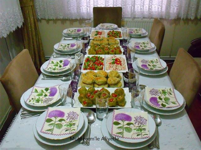 iftar yemeği tarifleri